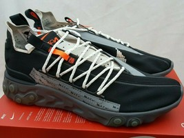 Nike React WR ISPA Low Running Sneakers Black AR8555-001 Men's Size 13 - $222.74