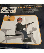 Bike Shop Center Mounted Child Bicycle Seat- Ages 1+ (up to 33lbs)- Brand New - $40.74