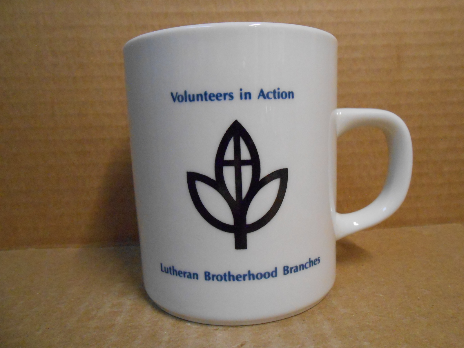Primary image for VOLUNTEERS IN ACTION CERAMIC MUG LUTHERAN BROTHERHOOD BRANCHES NEW FREE SHIP JE1