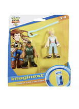 Fisher-Price Imaginext Toy Story Figures Set (2018) Combat Carl & Bo Peep - $9.90