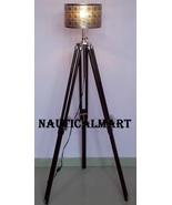 Designer Nautical Tripod Floor Lamp Stand Vintage Look Home Decor Collec... - $169.00