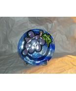 """Jan Mitchell Larsen Art Glass Plate/Saucer 5 3/4"""" - $31.68"""