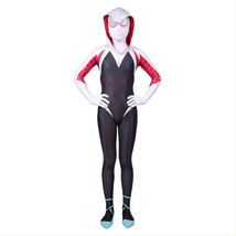 Spider-Man: Into the Spider-Verse Gwen Stacy Kids Costume Jumpsuit Cosplay - $17.99