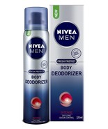 Nivea Men Body Deodorizer, Intense, 120ml original LONG EXPIRY DATE FREE... - $11.87