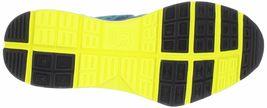 DC Shoes Hommes 'S Unilite Flexible Baskets Bleu Jaune Course Chaussures Nib image 7