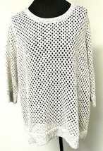INC Women's 3/4 Sleeve Open Knit Sweater/Top Size 3XL - $19.99