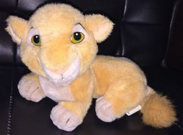 VTG Vintage Disney World Lion King Nala Lying Down Plush Stuffed Animal ... - $24.99
