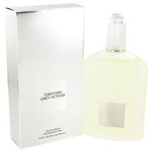 Tom Ford Grey Vetiver Cologne 3.4 Oz Eau De Parfum Spray image 4