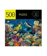 """Coral Reef Jigsaw Puzzle 500 pc  28"""" x 20"""" When Complete Durable Fit Pieces - $22.76"""