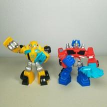 Transformers Optimus Prime/Bumblebee Rescue Bots Energize Hasbro Playsko... - $20.99
