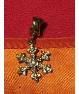 Gently Used Kay Charmed Memories Clear Crystal Snowflake Dangle Charm #190 - $16.00