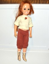 1968 IDEAL doll CRISSY red hair 18'' vintage  Growing Hair - $12.82