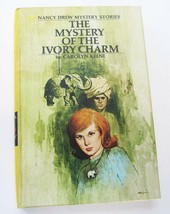 Nancy Drew Mystery of the Ivory Charm 1975 Book Hardcover #13 PC Great C... - $10.79