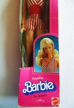 1983 Playtime Barbie 5336 Red & White Suit Doll - Mattel - $70.69