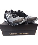 Under Armour Men's UA Charged Bandit 2 Black/Black/White Sneaker 8 E - Wide - $67.05