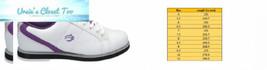 BSI Women's 460 Bowling Shoe Size 8.5, White/Purple - $43.41
