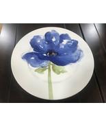 Royal Stafford Poppy Blue Floral Dinner Salad Plates S/8~New ~ - $89.99