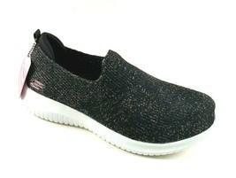 Skechers 13121 Black /Rose Gold Air-Cooled Memory Foam SlipOn Skech Knit Sneaker - $69.00