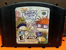 Rugrats in Paris: The Movie (Nintendo 64, 2000) Cleaned / Tested / Authe... - $8.90