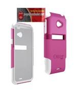 New OEM Otterbox Commuter Case HTC EVO 4G LTE - Pink/White 4G LTE Model ... - $4.77