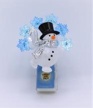 Bath Body Works Snowflake Festive Snowman Wallflower Diffuser Plug Night... - €19,17 EUR