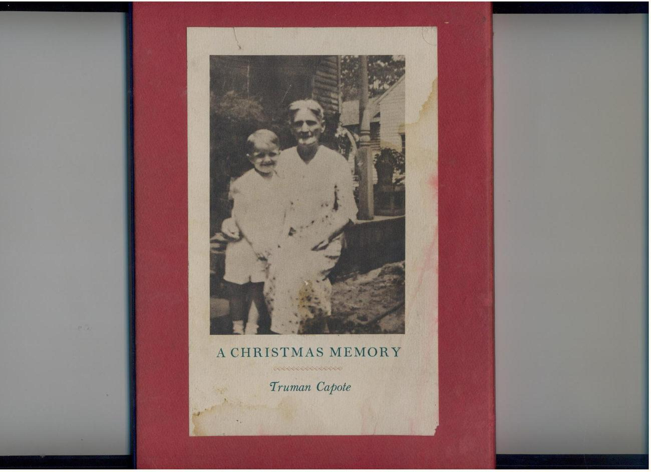 Capote - A CHRISTMAS MEMORY - VG+ to NF in case