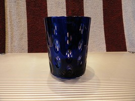 Details about   Faberge Cobalt Blue  Crystal  Old Fashion Glass - $225.00