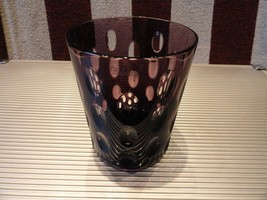 Details about   Faberge Purple  Crystal  Old Fashion Glass - $225.00