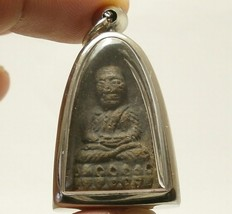 LP TUAD TAKRUT ARJARN NONG THAI POWERFUL BUDDHA AMULET STRONG PROTECTION PENDANT image 1