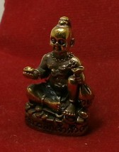 TINY GUMAN KUMAN THONG BOY MAGIC SPIRIT THAI WEALTH AMULET TALISMAN LUCKY GAMBLE image 4