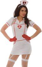 Sexy Hospital Hottie Costume Role Play Bedroom Deluxe Costume Nurse Uniform