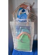 New 4 Pk Swim Fin Coasters Attaches to Wine Glass Stems Fun - $4.59