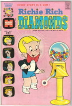 Richie Rich Diamonds Comic Book #7 Harvey Comics 1973 FINE+ - $3.99