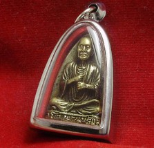 THAI REAL AMULET POWERFUL PENDANT PHRA SOMDEJ TOH CHANT MIRACLE SUCCESS MANTRA image 3