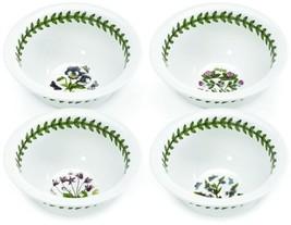 Botanic Garden Round Dish Home Kitchen Dining Dinnerware Bowl Mini Set of 4 - $41.84