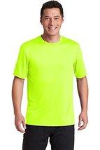Hanes Cool DRI TAGLESS Men T-Shirt,Safety Green,X-Large - $12.47
