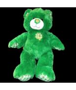 "Build a Bear  St. Patrick's Day Irish Shamrock Green Teddy 16"" Plush Stu... - $21.99"
