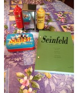 Seinfeld Playing Cards Monk's Mustard Ketchup Shakers Napkin Holder Big ... - $69.99