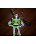 """2008 ThinkWay Toy Story 8"""" Buzz LightYear with Light Up Twirling Lights ... - $14.63"""