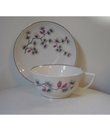 Arcadian Southern Pines Cup and Saucer Platinum... - $15.00
