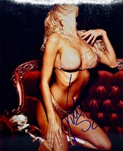 2003 Victoria Silvstedt Autographed Photograph 3  - Actress / Playmate B... - $89.99
