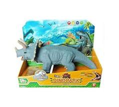 Think Toys Dino Park Sound Dinosaur Triceratops Soft Figure Toy
