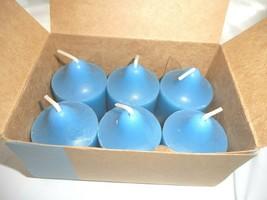 PartyLite Votive Candles Apple Orchard Scent V06206 Quantity 6 Box Single Wick - $14.84