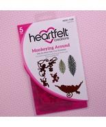 Heartfelt Creations Cut & Emboss Dies Monkeying Around, HCD1 7133 RETIRED! - $22.91