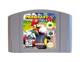1 pcs, 64 Bit Games Mario Kart English NTSC - $34.99