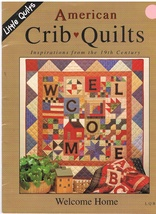 American Crib Quilts Quilting Craft Pattern Book - $7.99