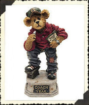 """Boyds Bearstone """"Coach Grizberg...Leading the Way"""" *Retired* #227757*1E*NEW* - $12.99"""
