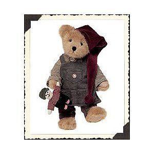 "Boyds Bears ""Gregory B. Elfbeary"" 10"" Plush Bear* #904051*New* 2002* Retired"