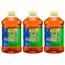 Pine-Sol Cleaner Disinfectant and Deodorizer, Pine Scent, 144 oz, 3ct, C... - $46.27