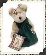 "Boyds Bears ""Polly Quignapple"" 10"" Plush Bear  #910020 - NWT -1999-  Ret... - $21.99"